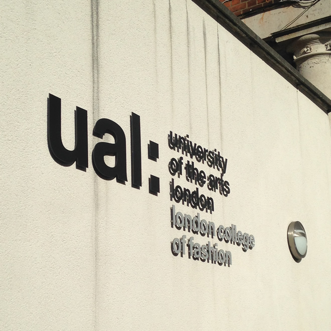 London College of Fashion- aulas