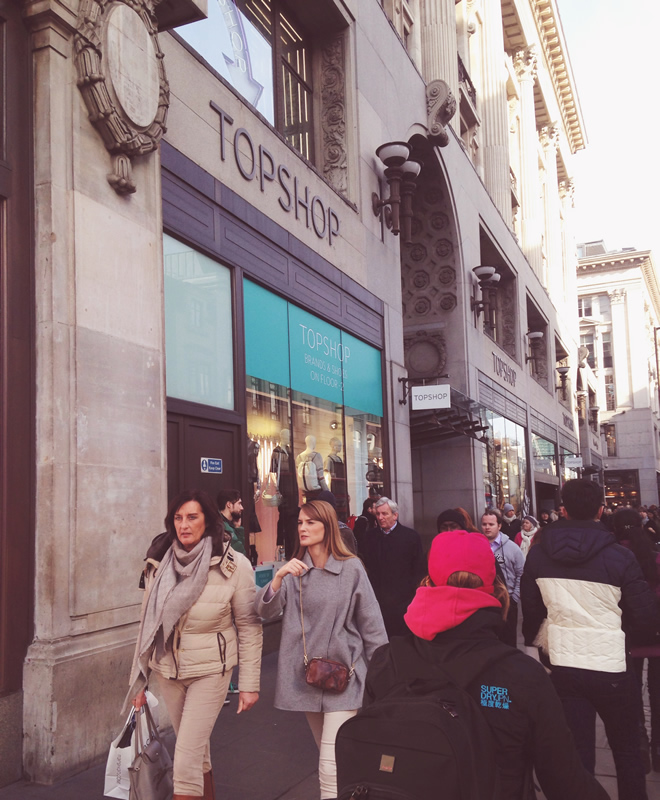 Oxford Street Topshop