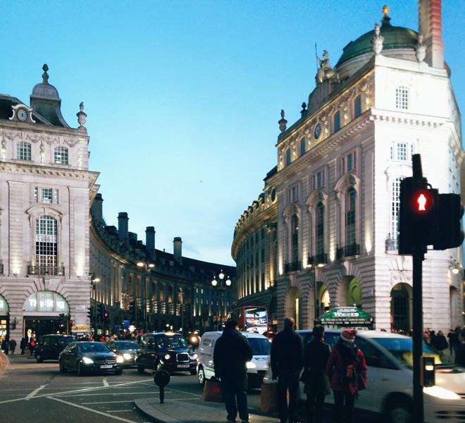 Viajando a Londres