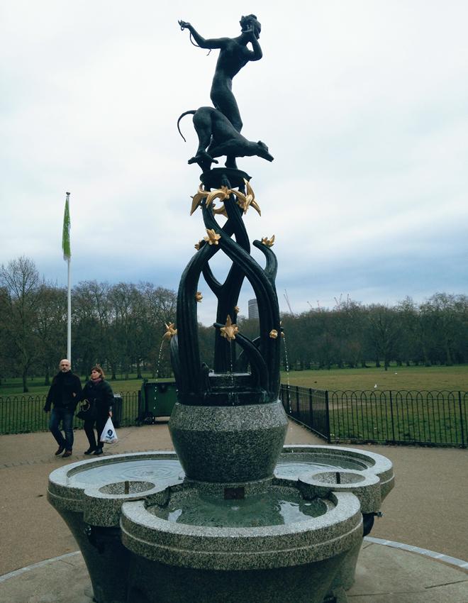 Palácio de Buckingham- green park 1