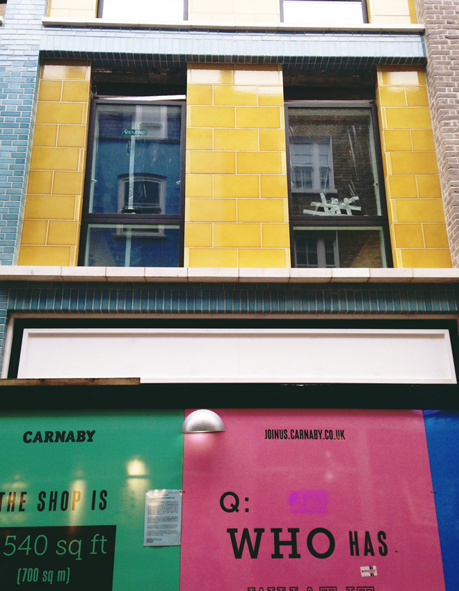 Saatchi Gallery- Carnaby Street 9