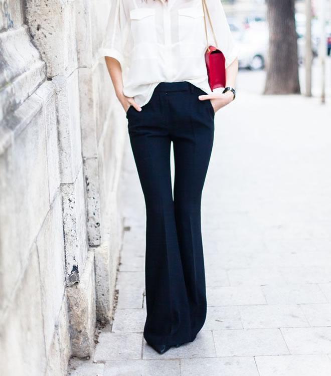 Looks para trabalhar: Inverno (calça)
