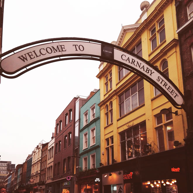 Saacthi Gallery - Carnaby Street 1