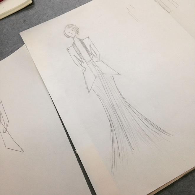 Ilustrações de moda 2