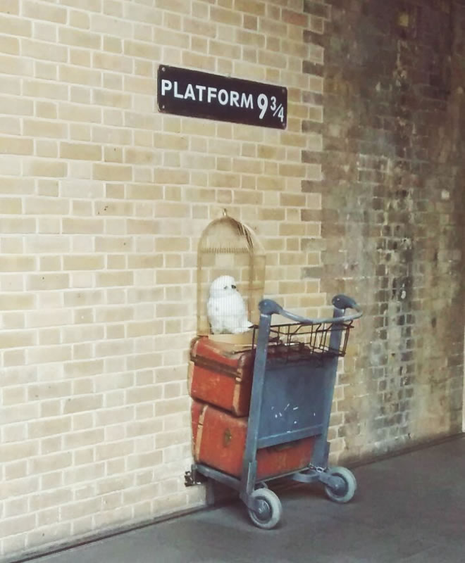 Kings Cross- Harry Potter