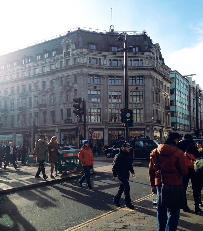 dicas de compras em Londres