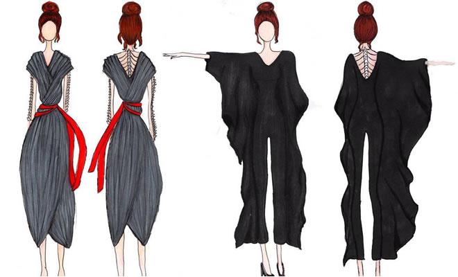PI - desenhos das roupas