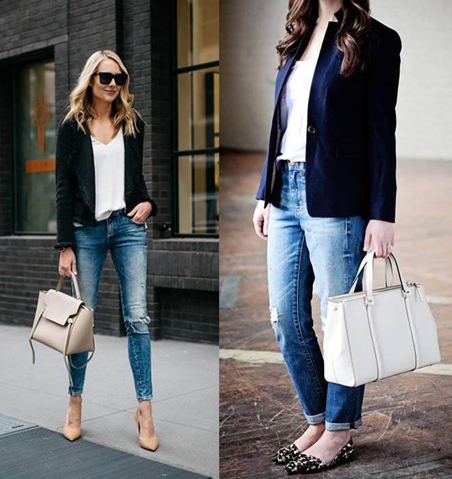 Como usar jeans no ambiente de trabalho? 2