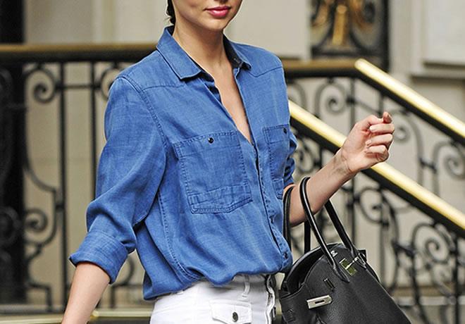 As melhores combinações para a camisa jeans - 3