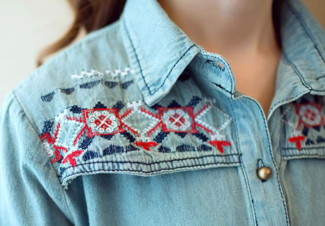 As melhores combinações para a camisa jeans – 4