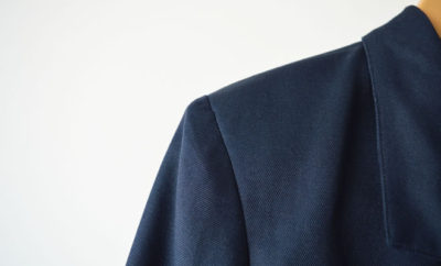 Blazer azul - capa
