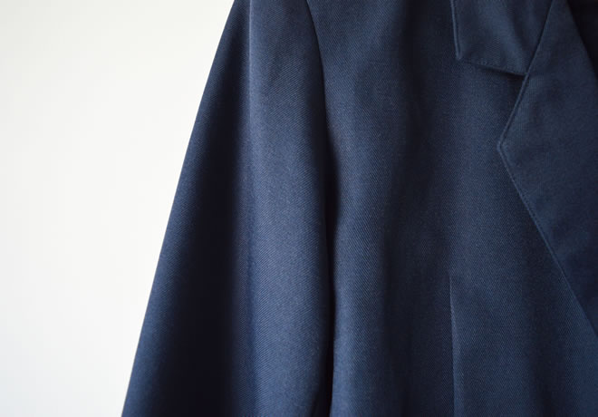 Blazer azul – detalhe