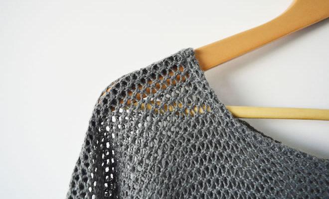 Blusinha de rede - capa