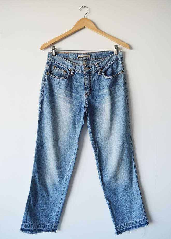 Calça jeans boy – frente