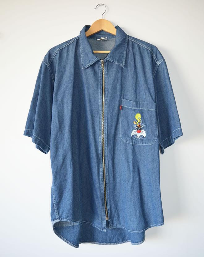Camisa Looney Toones – frente