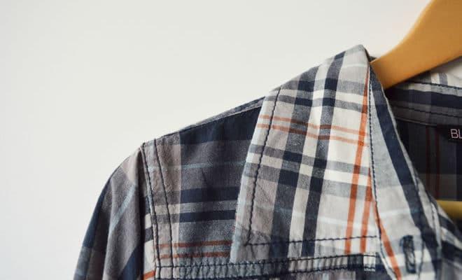 Camisa xadrez - capa