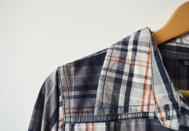 Camisa xadrez – capa