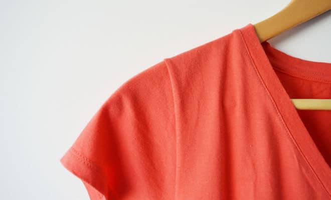 Camiseta laranja - capa