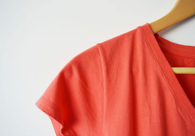 Camiseta laranja – capa