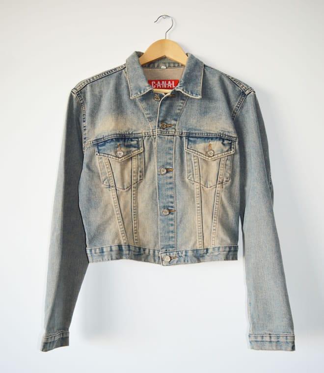 Jaqueta jeans 1 – frente