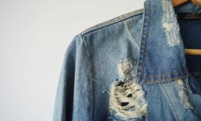Jaqueta jeans - capa