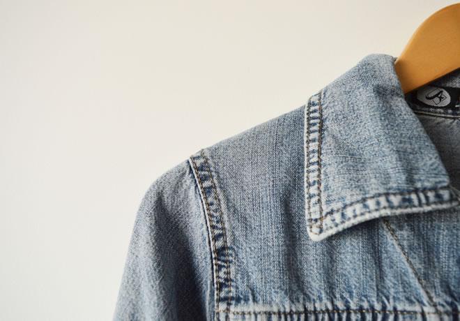 Jaqueta jeans – capa