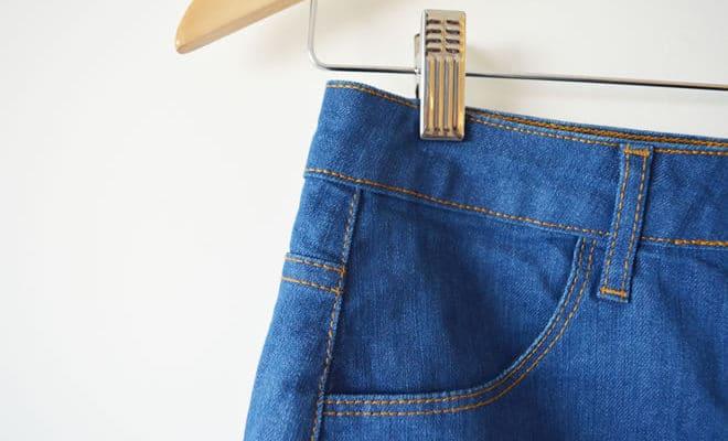 Saia jeans Luigi Bertolli - capa