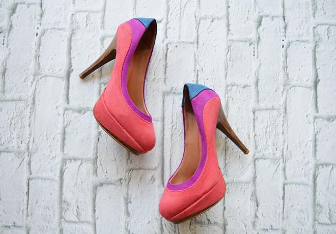 Sapato colorido Vizzano - 1
