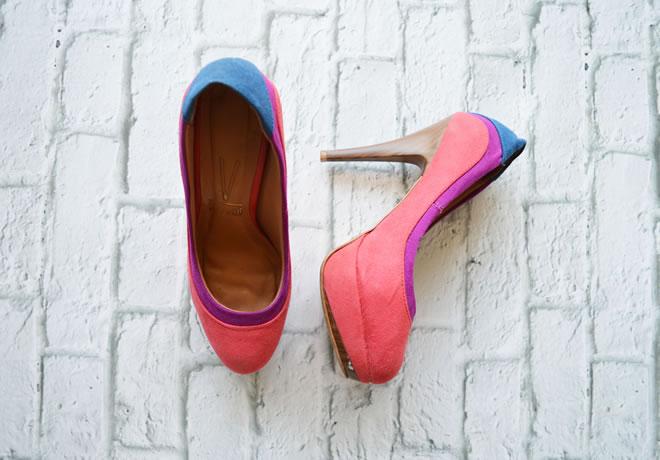 Sapato colorido Vizzano - 2