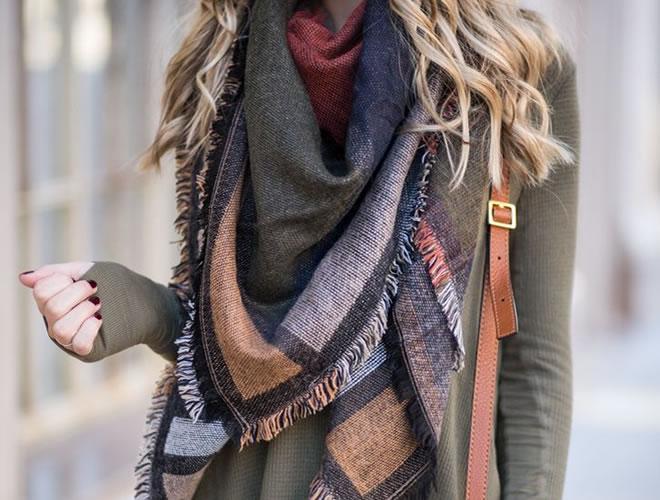 Incremente seu look- conheça os acessórios de inverno! - Cachecol
