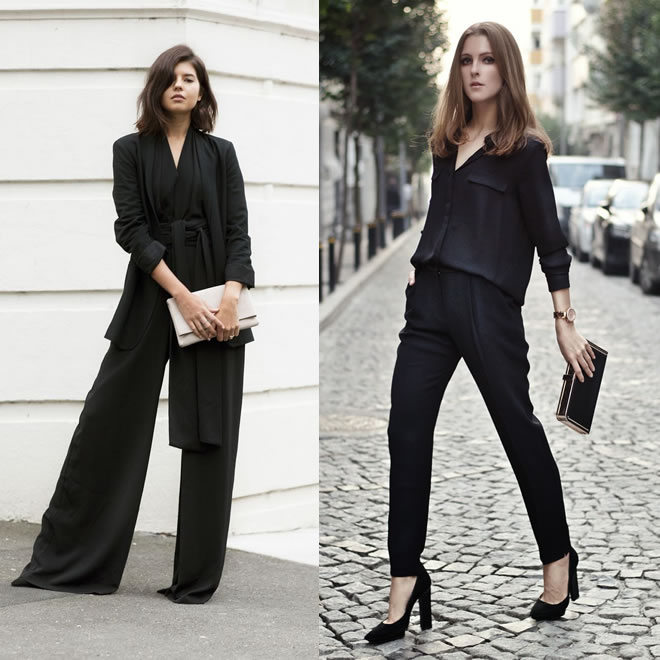 O poder do look total preto – 1