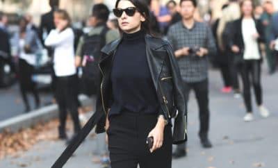 O poder do look total preto - capa