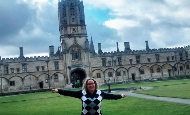 Minha viagem para Oxford - capa