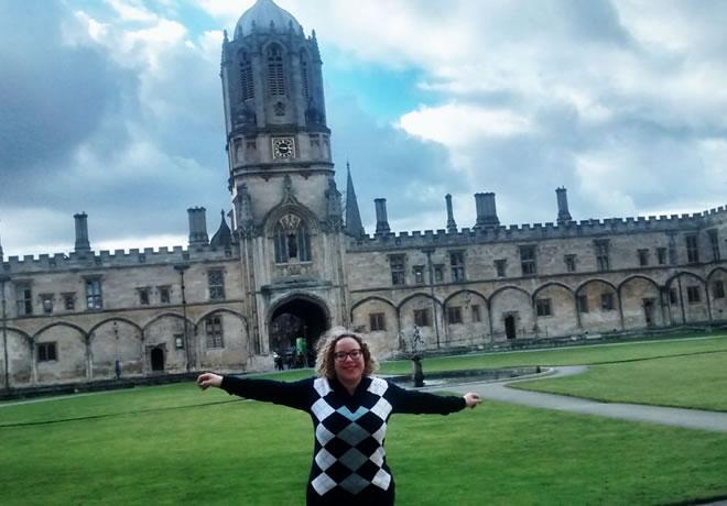 Minha viagem para Oxford – capa