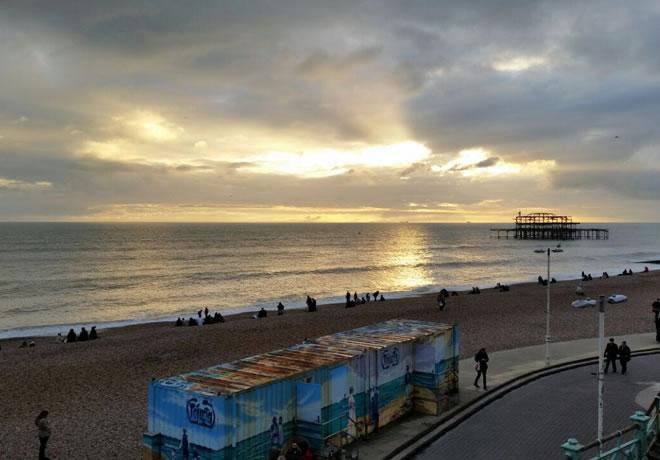 Minha visita a Brighton 1