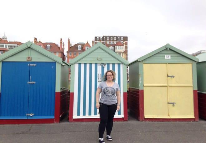 Minha visita a Brighton - capa