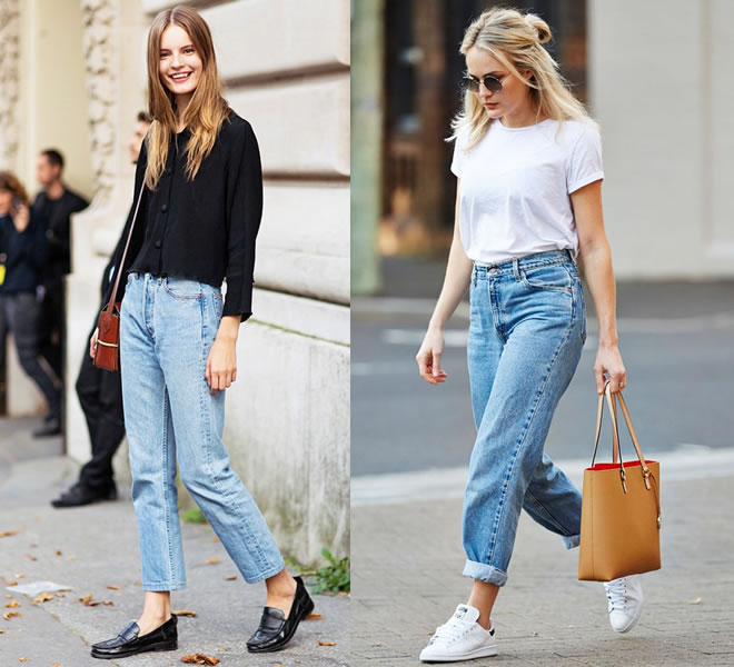 A volta das peças dos anos 90 - Mom jeans