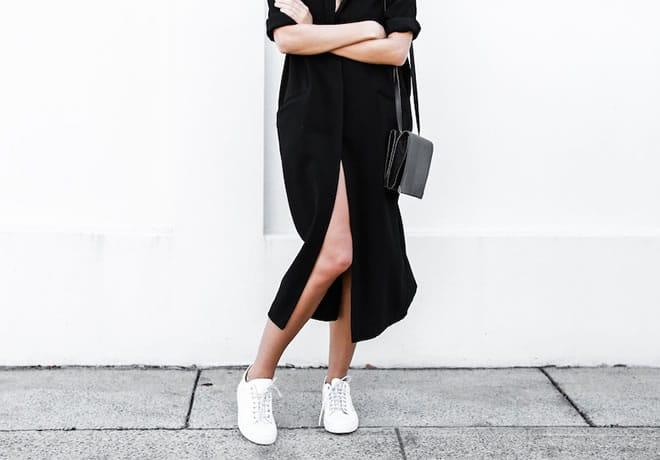 Como usar tênis no ambiente de trabalho de forma cool e elegante – capa
