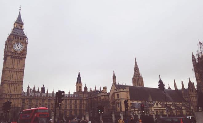 Pontos turísticos em Londres - capa