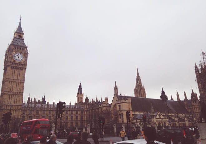 Pontos turísticos em Londres – capa
