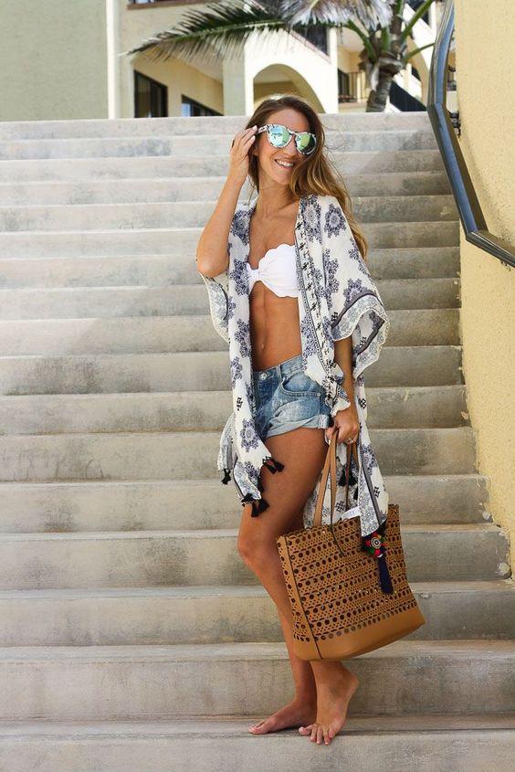 Biquini + Kimono