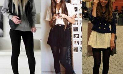 calças pretas fotos de looks