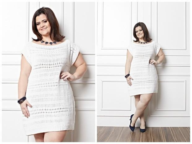 batizado look plus size