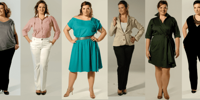 moda social plus size look