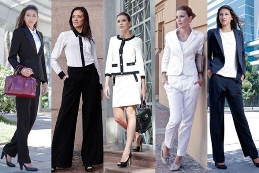 roupa social moda feminina