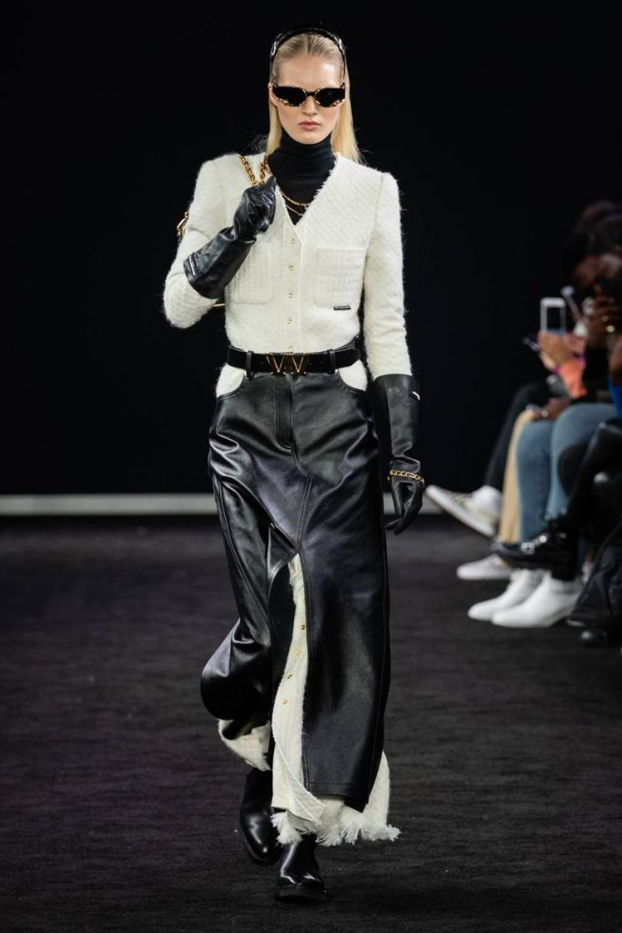 Jaqueta de couro Alexander Wang