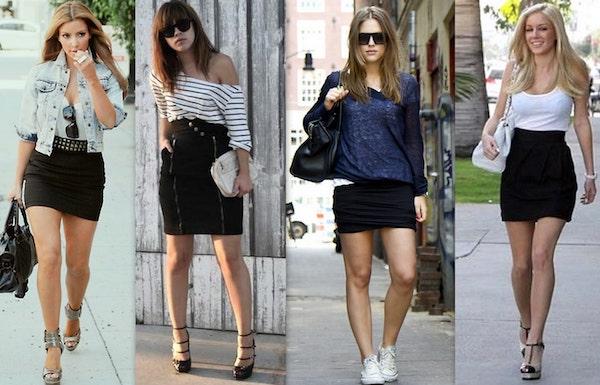 aparência magra com as roupas certas