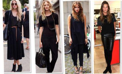 escolhendo as roupas certas saia preta