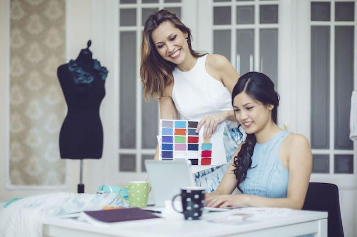 moda departamento novo negócio de moda