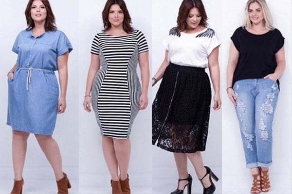 moda plus size no ambiente de trabalho